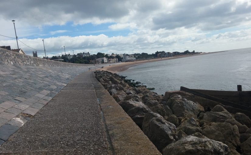 Exmouth Sea Wall